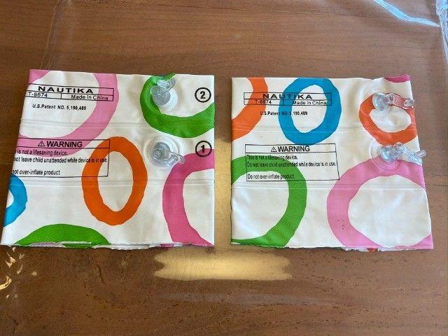 Bóia Infantil de Braço Nova - Nautika Fashion Colors - Nova e Nunca Usada - Foto 4