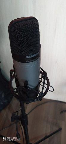 Microfone Condenser Samsom C01 Studio - Foto 5