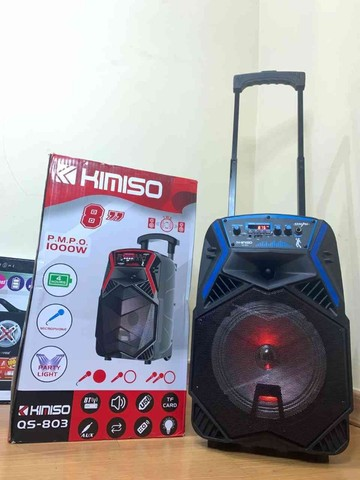 caixa de som Amplificada kimiso  1000w de  Potencia E Karaokê!! ??:  - Foto 5
