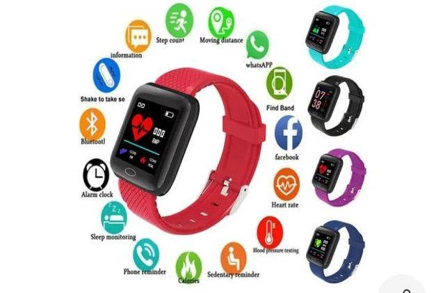 relógio smartwatch inteligente fitness android - Foto 6