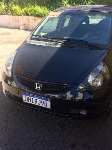Honda Fit LXL 2004 automático + couro