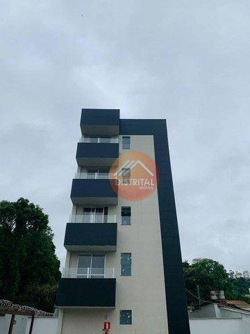Apartamento com 2 dormitórios à venda, 55 m² por R$ 275.000,00 - Ouro Preto - Belo Horizon - Foto 2