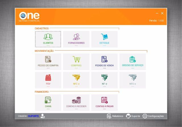 One Sistema Comercial NFCe Nota Fácil