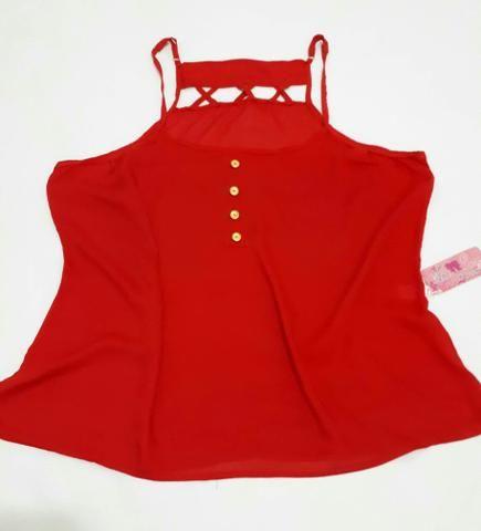 Blusa Vermelha - Tamanho G/GG