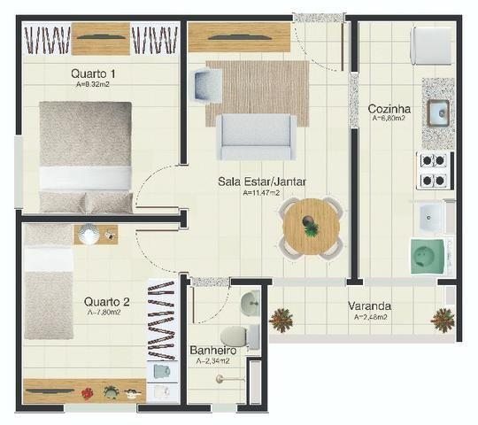 Apartamento Club Pronto para Morar ultimas unidades Itbi e Cartório Grátis - Foto 16