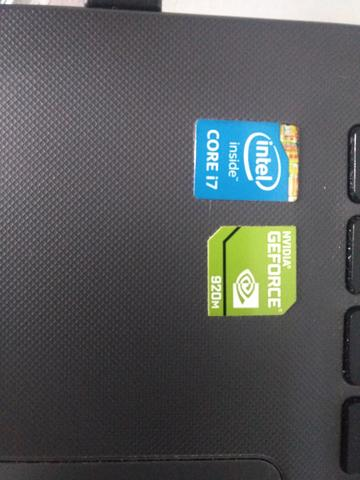 Notebook acer core i7