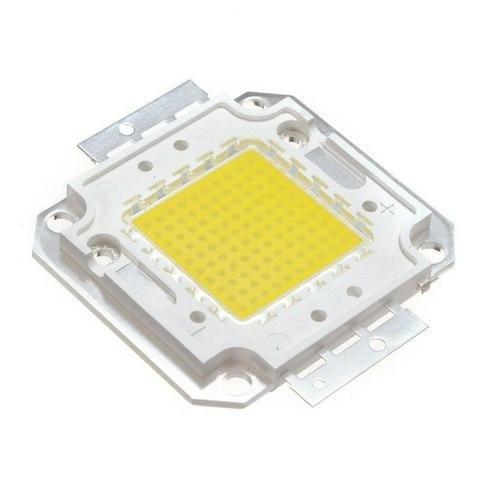 Chip Led Reparo Reposição Refletor Spot 50w Lâmpada 10 peças