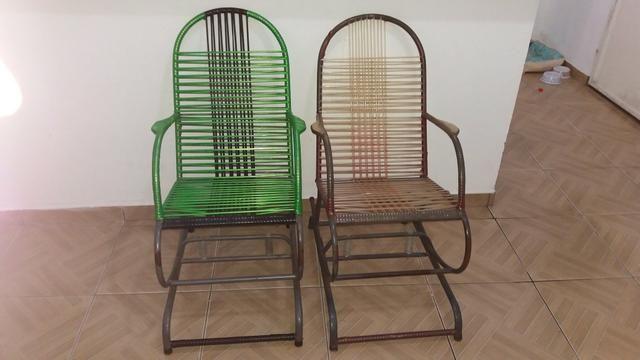 Cadeira de balanço/macarrão