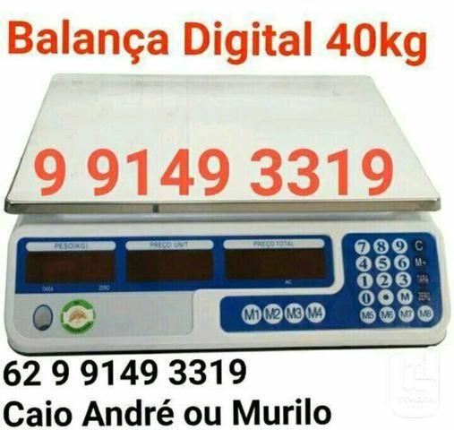 Balança digital de 40 kilos