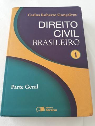 Livro Direito Civil Brasileiro 1
