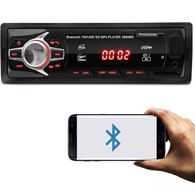 Radio Automotivo Bluetooth/USB/SD/MP3 First Option