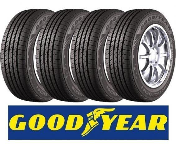Kit com 04 Pneus Goodyear 175/70R13 82T Direction Touring