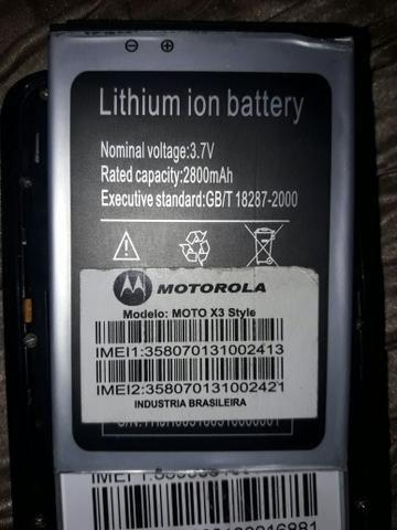 Vendo bateria de celular moto x3 style