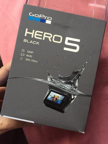 Câmera Go Pro Hero 5 black à prova d?água