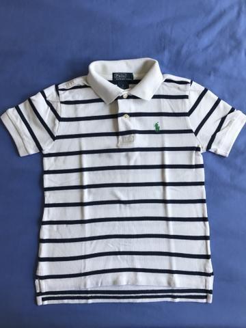 Camisa Polo marca Polo Ralph Lauren tam 6 anos