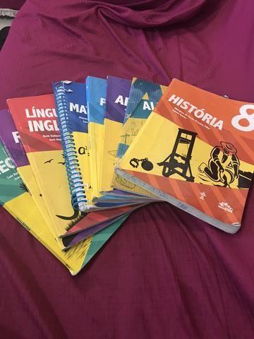 Livros do colégio Adventista 8 ano