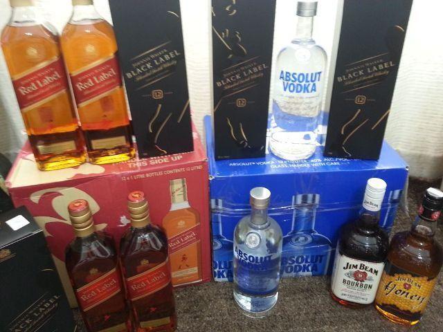 Bebidas Importadas disponiveis tambem aceito encomendas