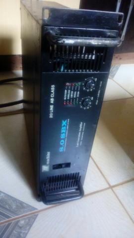 Amplificador de potência Machine SBX 8.0