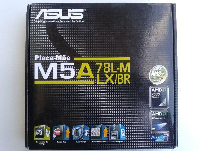 Placa Mãe Asus M Atx M5A78L-M LXBr (Amd AM3+)