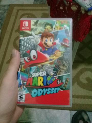 Super Mario Odissey para Nintendo Switch