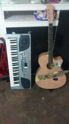 Violao Austin mais teclado