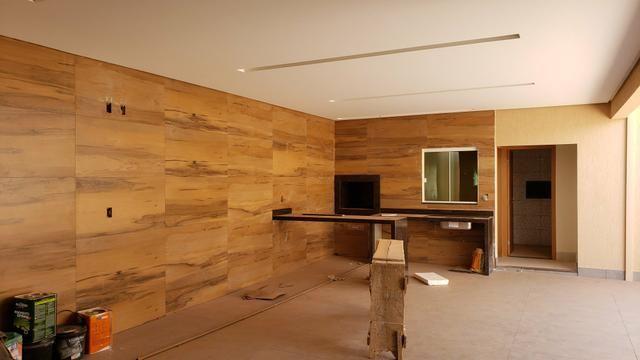 Casa nova 3quartos 3suites piscina churrasqueira rua5 Vicente Pires - Foto 11