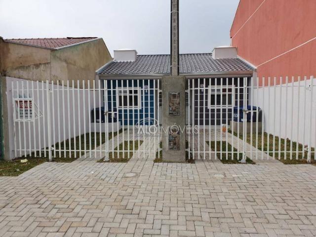 Casa com 2 dormitórios à venda, 36 m² por r$ 155.000,00 - ganchinho - curitiba/pr - Foto 2