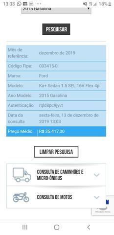 Ford Ka sedan SEL 1.5 X 2014/2015 - Foto 7