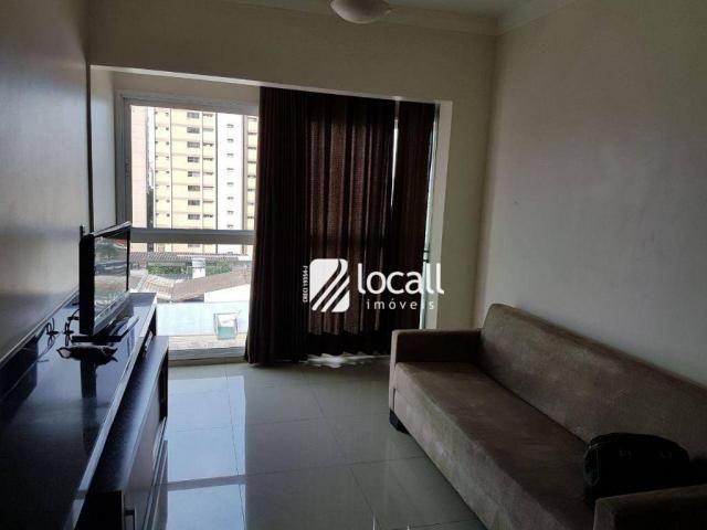 Apartamento para alugar, 40 m² por R$ 1.500,00/mês - Vila Redentora - São José do Rio Pret