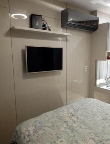 Murano Imobiliária aluga apartamento de 3 mobiliado quartos na Praia da Costa, Vila Velha  - Foto 15