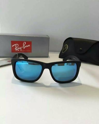 Óculos de sol Ray Ban Justin polarizado Novo Frete grátis ... a91f82b22c