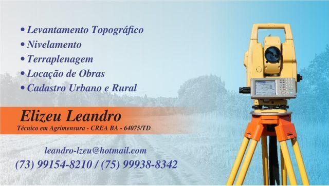 Topografo/Agrimensor - Foto 5