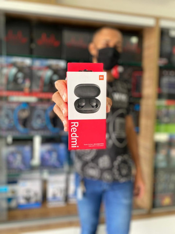 Fone de ouvido sem fio Xiaomi Redmi AirDots - Foto 2