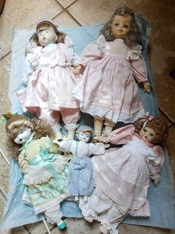 Vendo lindas bonecas porcelana - Foto 5