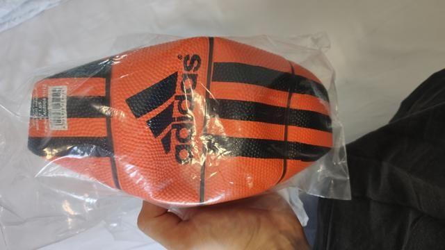 Mini-bola de basquete - Adidas (nova/original) - Foto 2