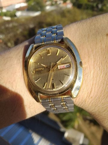 Raríssimo Seiko 19 Jewels * Golden Edition Fab 05/83