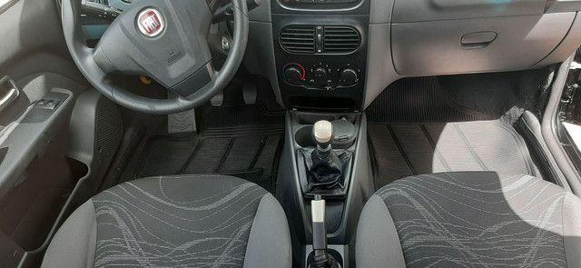 FIAT SIENA EL 1.4 MANUAL COMPLETO PRETO 2014.  - Foto 5