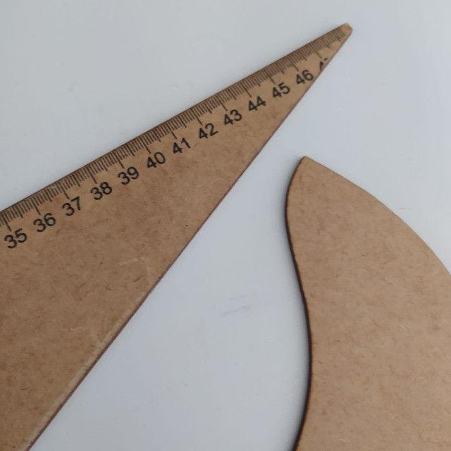 Conjunto regua para costura francesa em mdf - Foto 3