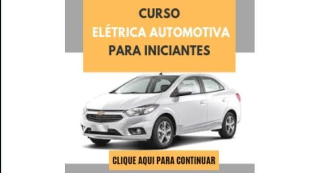 Curso Online Elétrica Automotiva<br><br>