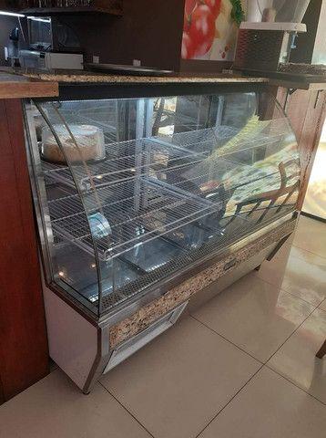 Vendo balcão refrigerado c/ mármore
