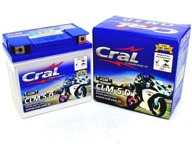 Bateria de Moto CLM 5 D - Cral