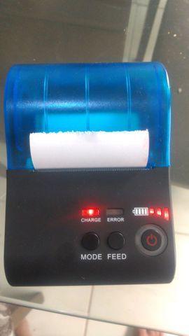 Mini impressora térmica portátil!