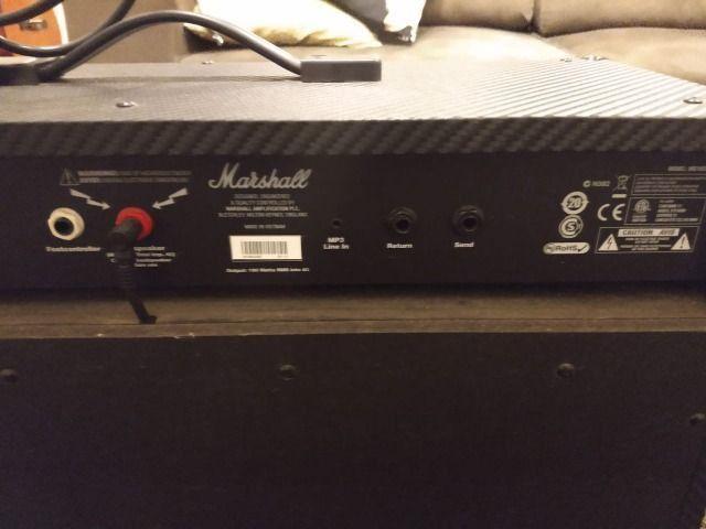 Amplificador Marshall zerado - Foto 2