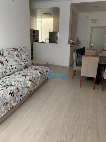 Apartamento com 3 dormitórios à venda, 110 m² por R$ 495.000,00 - José Menino - Santos/SP - Foto 2