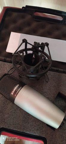 Microfone Condenser Samsom C01 Studio - Foto 4