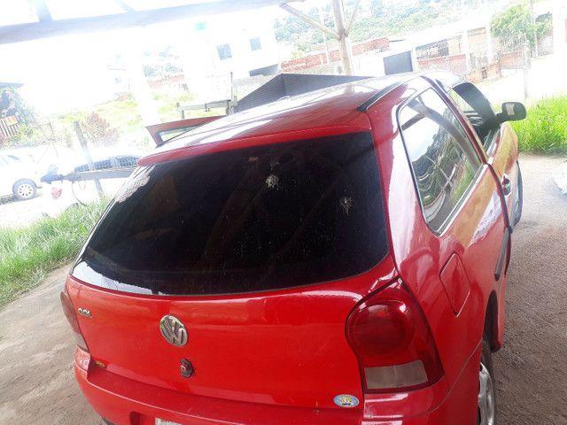 Gol g4 vermelho básico modelo básico modelo 2008 ano 2007 - Foto 3