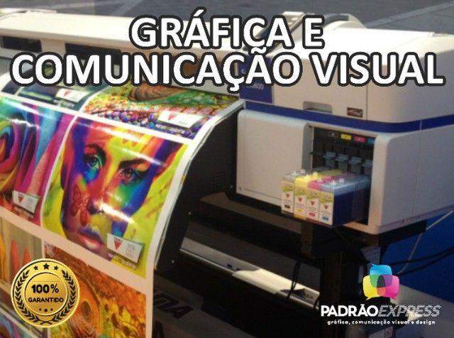Serviços Gráficos, Gráfica Offset, Gráfica Rápida, Comunicação visual e Designer. - Foto 2