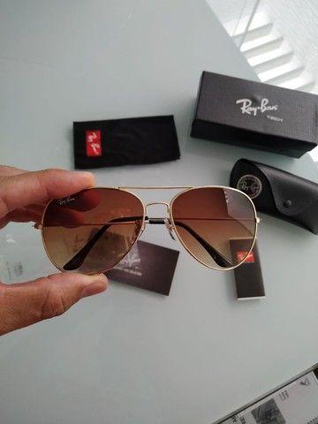 Vendo óculos novo modelo aviador na caixa
