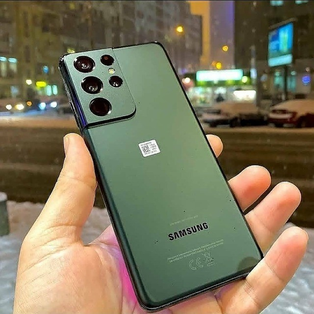 Smartphone Samsung Galaxy S21 Ultra 256GB Preto