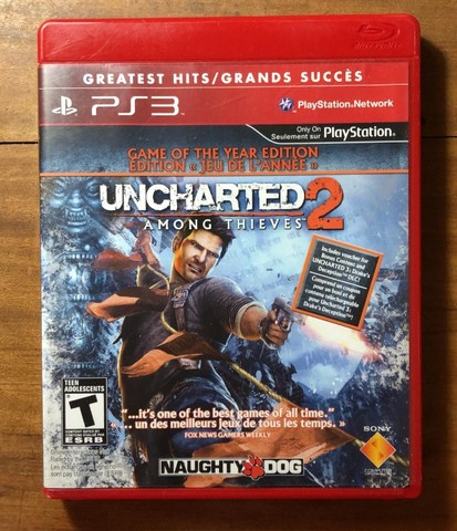 Uncharted 2 - Among Thieves - PS3 (Mídia Física)